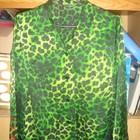 Очень красивая и стильная атласная блуза, размер 48