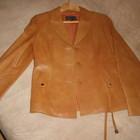 Кожаный пиджак Woger. Состояние нового