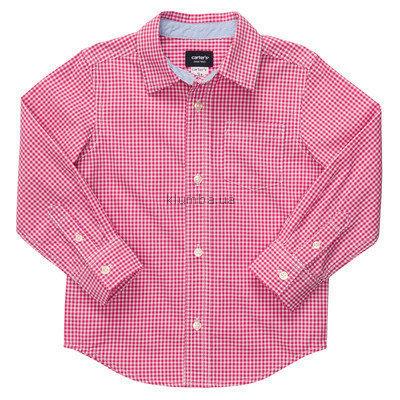 Рубашка для мальчика от carters на 3 года Цена снижена.