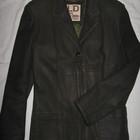 Кожаный пиджак Luca domino Италия