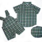 Ромпер рубашка кепка Janie and Jack 6-12м. Новый. Летний комплект
