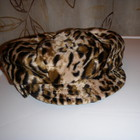 Велюровая шапка