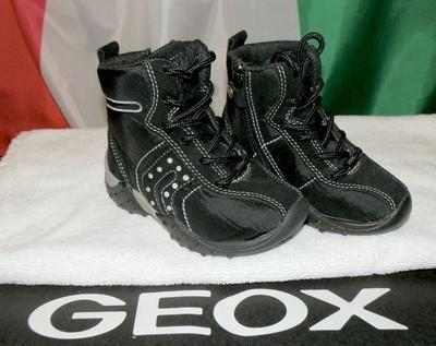 Ботинки демисезонные детские замшевые Geox оригинал из Италии