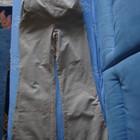 Бежевые вельветовые брюки для беременных