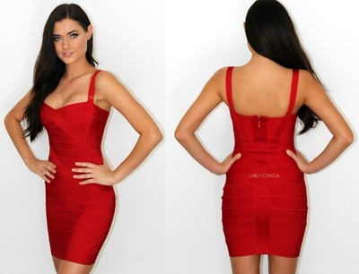 b26cbbc9505 Шикарное красное бандажное платье Herve leger в наличии. Previous Next