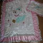 Шикарное детское одеяло с подушечкой