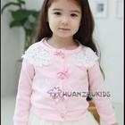Блузка на пуговицах нарядная для девочек в наличии розовая -ХИТ Продаж