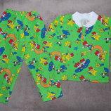 Пижамы теплые новые в наличии на рост 92-98 см