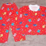 Пижамы теплые новые в наличии на рост 98-104 см