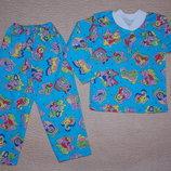 Пижамы теплые новые в наличии на рост 104-110 см