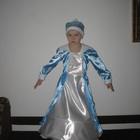 костюм Снігурочки Снегурочки на 5-7-річну дівчинку - прокат