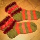 Яркие носки ручной работы 37-40 размер