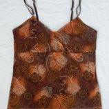 Майка маечка кофта туника, размер S, блузка блуза