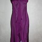 Платье вечернее 44-46 сиреневое фиолетовое ежевичное бордо