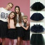 Отличная качественная юбка из фатина в школу и садик, на танцы и праздники Модно и стильно