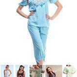 Пижамы и ночные сорочки от 120 грн. Хлопок. Польша, Украина, Турция.