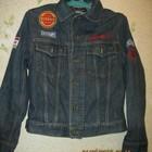 Джинсовая куртка на подростка