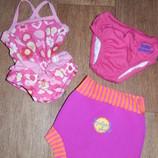 Купальник и термо плавки в бассейн, на море для Вашей дочурки