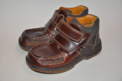 Clarks р. 8Е стелька 16 см Ботинки натуральная кожа Вьетнам