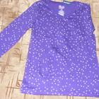 кофточка фиолетовая с звездочками из Аериким