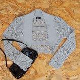 болеро свитер кофта футболка туника майка, размер S блуза блузка