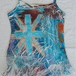 майка кофта футболка, размер S-М, Griffin, Франция блуза блузка жаточка