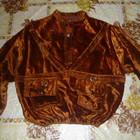 куртка кофта велюровая на 3-6лет