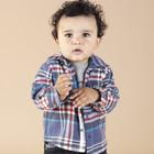 Детская рубашка теплая Mothercare на 24-36 мес.