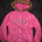 красивая куртка демисезонная, на 4-5 лет, девочке