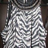 платье туника принт