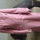Розовое пальто-S-