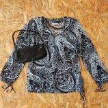 НОВАЯ кофта кофточка туника футболка майка, размер M-L блуза блузка