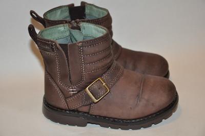 Ботинки демисезонные Clarks р.5,5G по стельке 14,5 см. Натуральная кожа.