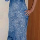 Платье вискоза с шалью 42р