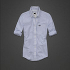 Gilly Hicke в тонкую голубую полоску рубашка Америка оригинал