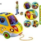 Развивающая музыкальная игрушка-сортер Автошка