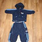 Спортивный костюм на 1-2 года на хлопчатой подкладке