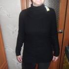 свитер черный красивой вязки из Америки