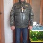 Куртка мужская, демисезонная, зеленого цвета