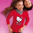D-203 Реглан Hello Kitty красн р.92/98