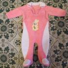 Махровый костюмчик для девочки