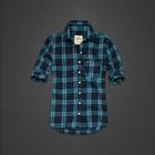 акция Hollister рубашка голубая летняя Америка оригинал