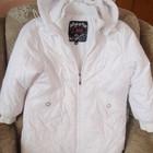 Біла куртка-пальто
