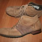 Эксклюзивные замшевые стильные ботинки Англия. 44р -30.5 стелька