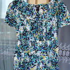 Бронь Снизила цену Легкая бирюзовая кофточка H&M с коротким рукавом. Стильная, модная