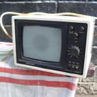 маленький телевизор черно-белый переносной