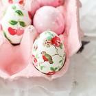 Пасхальные яйца своими руками с помощью салфеток