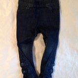 Джинсы, скинни Next на 3-4 года. Красивые, стильные штанишки для девочки.