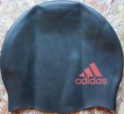 Adidas Logo шапочка для плавания детская силиконовая черная