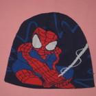 Двойная шапочка Spider-Man на 12-24 мес.